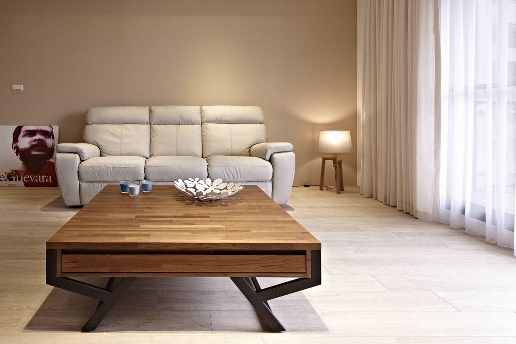 简约宜家客厅伸缩茶几装饰效果图