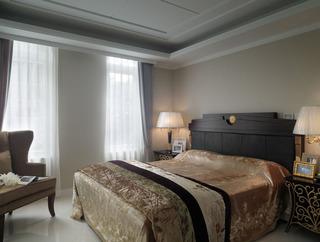 复古简欧风卧室设计