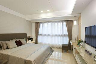 簡約臥室窗簾設計