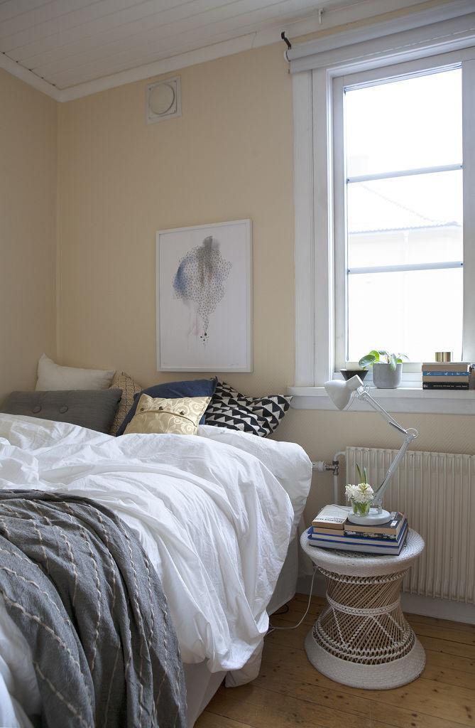 简约北欧风 卧室窗户效果图