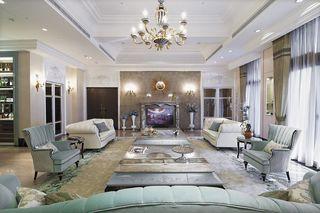 奢华法式宫廷风 客厅混搭设计