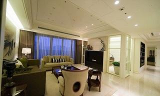 现代135平三室两厅装修设计