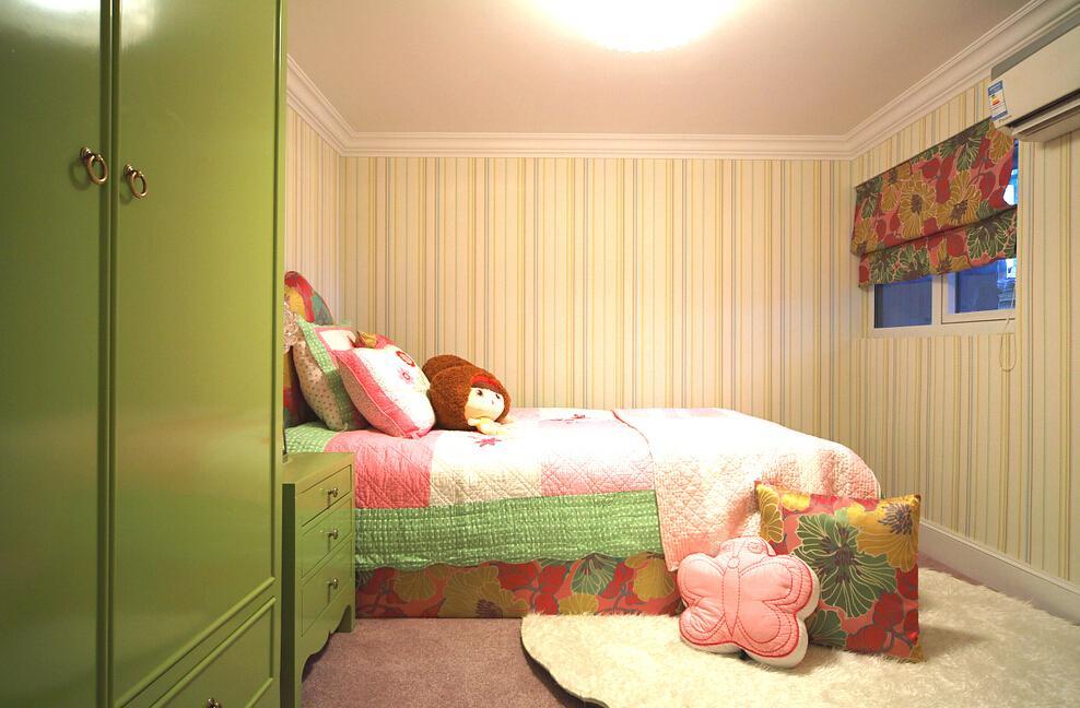清新可爱简欧儿童房装修