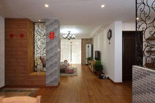 朴实田园风格家居室内隔断装修设计