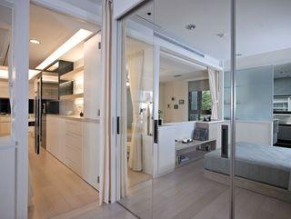 时尚现代家居玻璃隔断案例图