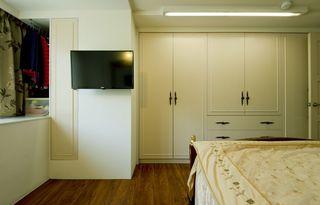 歐式現代臥室櫥柜設計裝修圖