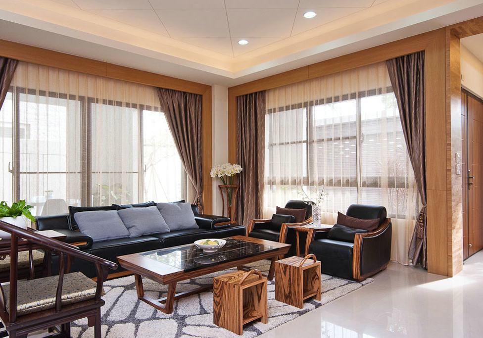 美式装修风格客厅家具装饰效果图