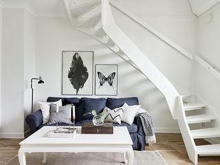 个性黑白北欧风 小复式家居设计