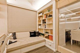 高雅和谐新古典风格书房地台设计