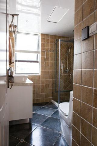 复古美式卫生间装修效果图