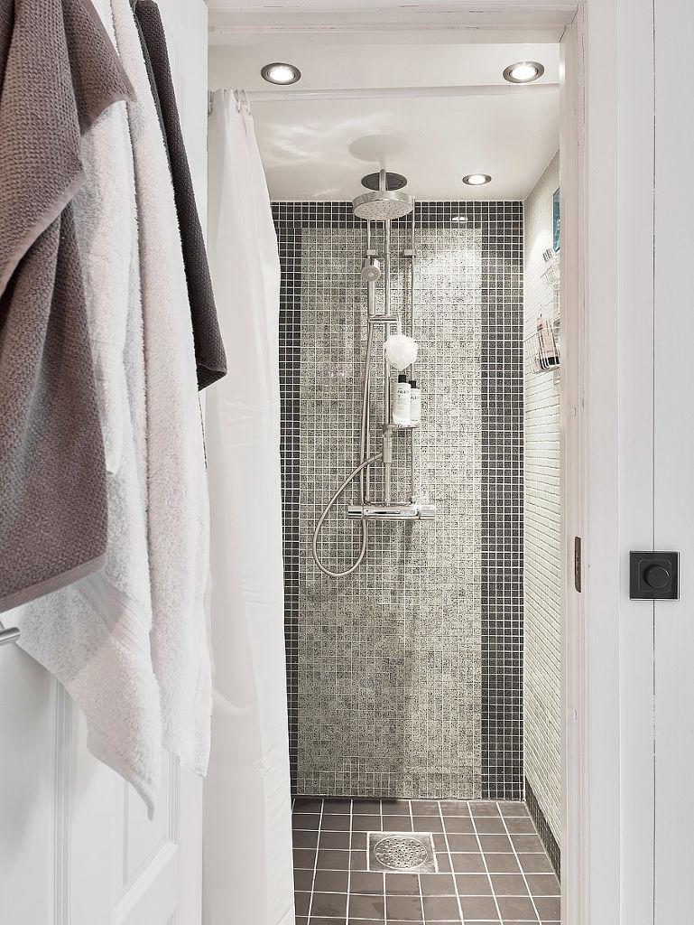 时尚北欧风马赛克浴室设计