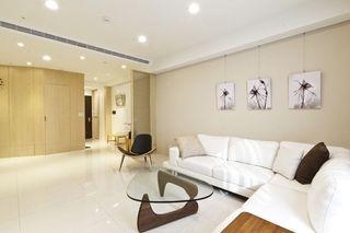 清爽宜家日式 客厅照片墙设计