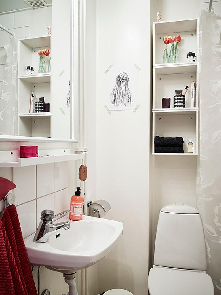 极简北欧风 小卫生间设计