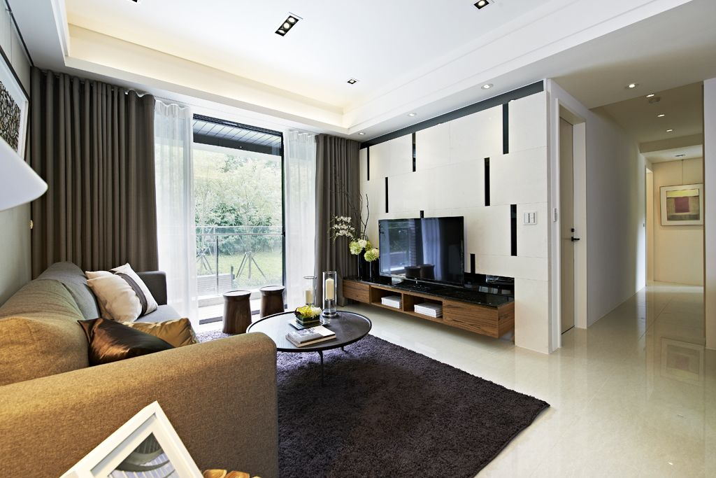 后现代风格小别墅客厅装饰效果图