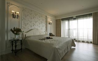 浪漫美式田园风 卧室背景墙设计