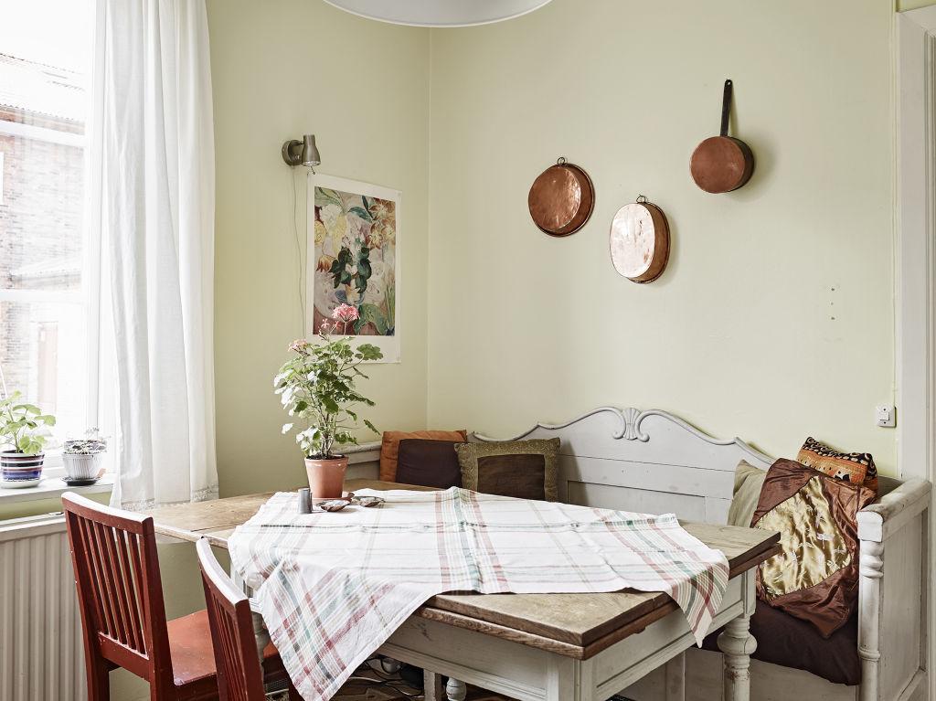 清新北欧餐厅装潢效果图