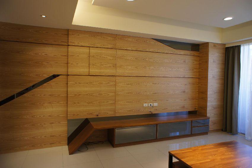 原木日式装修风格二居室装潢效果图