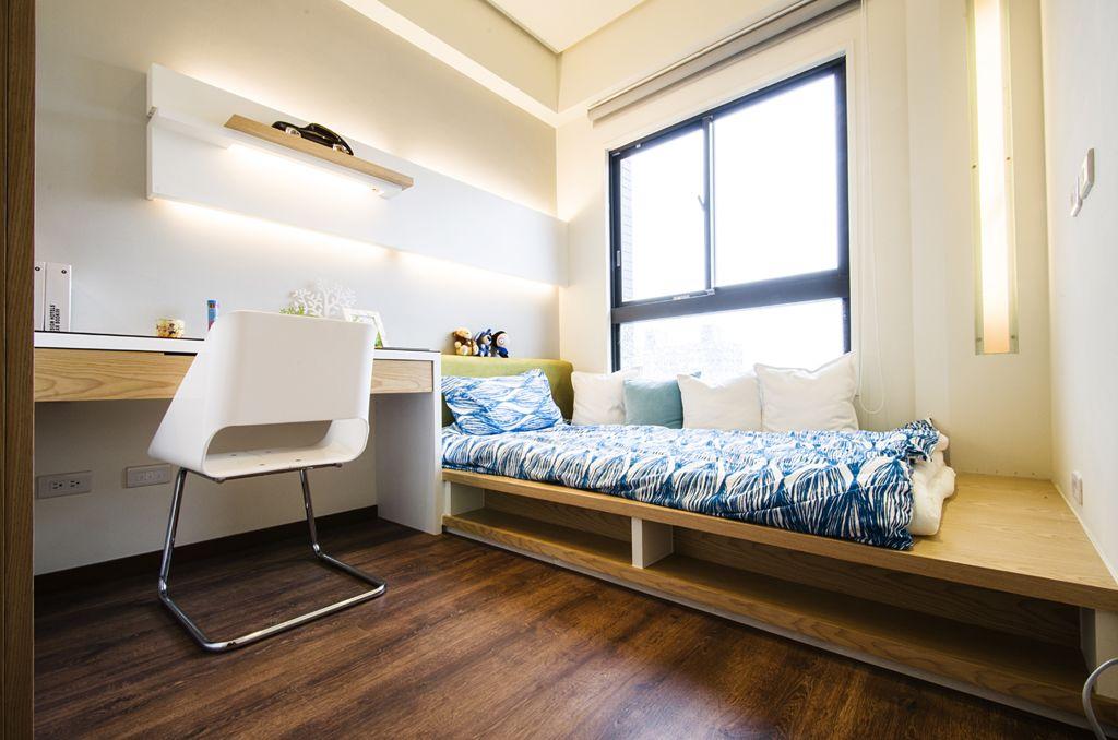 时尚宜家小书房 地台床设计