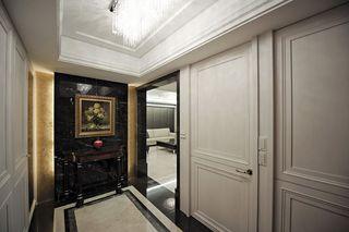 现代欧式风玄关背景墙装饰