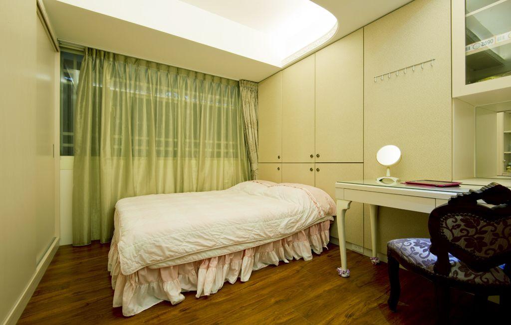 欧式装修风格卧室设计装潢效果图