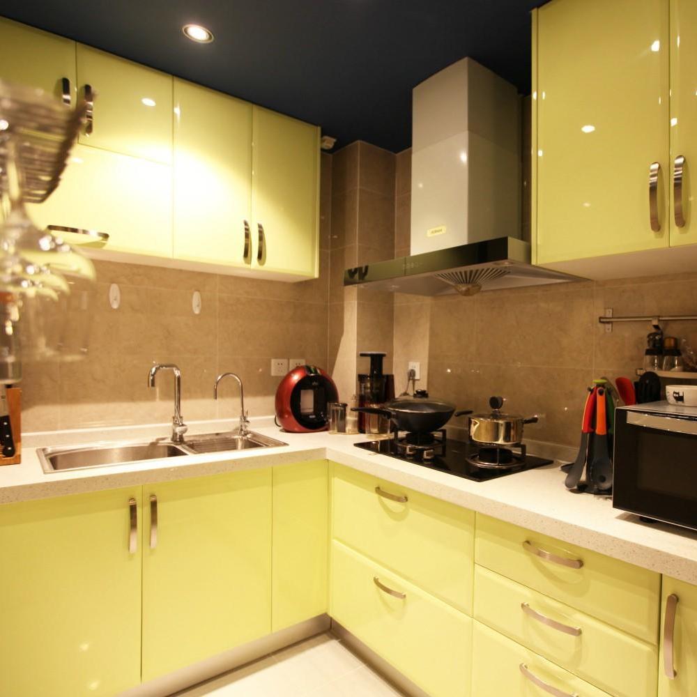 现代风混搭 厨房橱柜设计