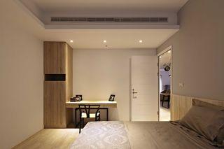 宜家卧室白色门装饰效果图