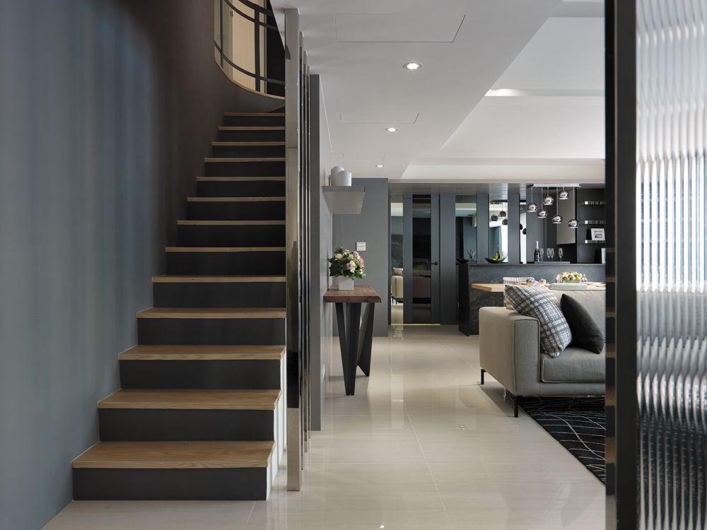 时尚摩登现代复式楼梯设计