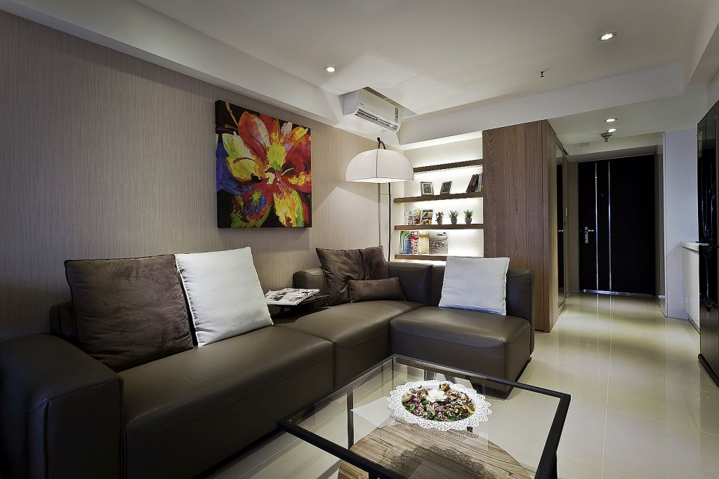 现代装修风格两居装饰设计