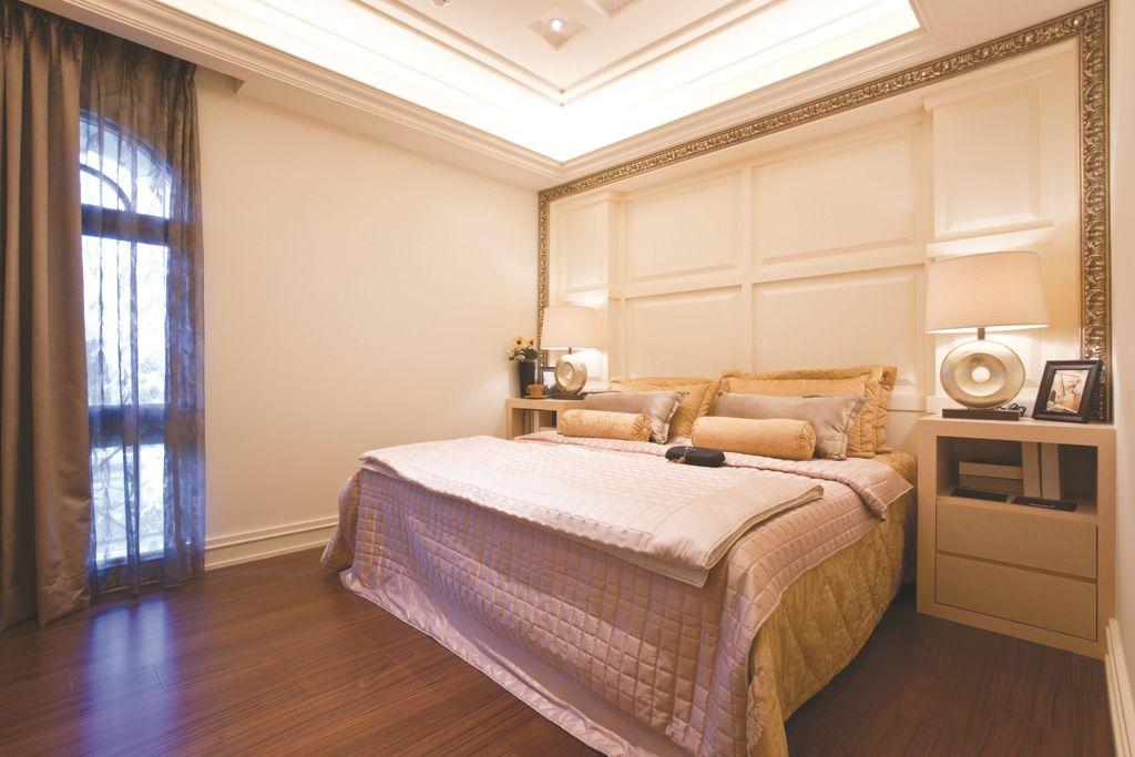 美式装修风格家装侧卧室效果图