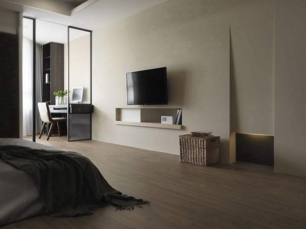 后现代风卧室室内隔断设计