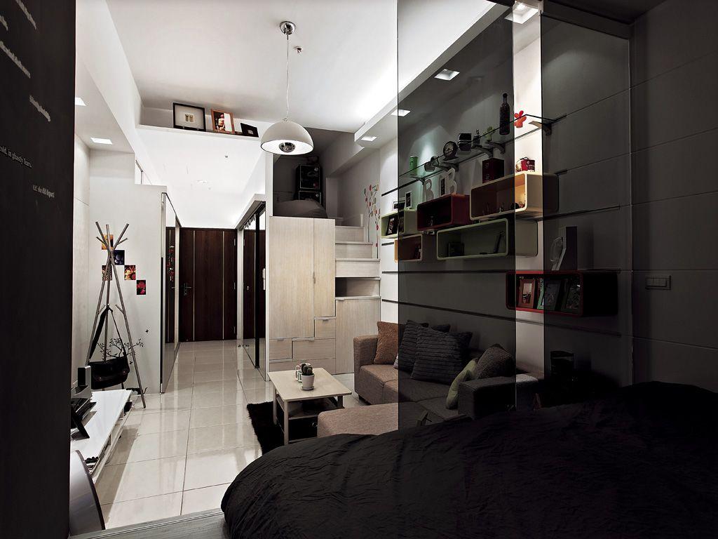 30平现代小户型室内装修设计
