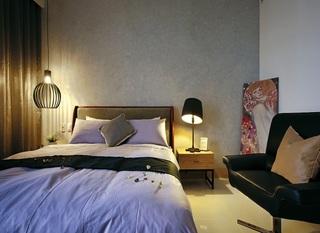 简约现代卧室波普艺术画欣赏