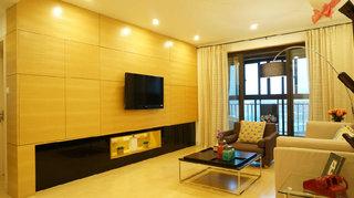 美式田園裝修100平米三室兩廳設計裝潢圖