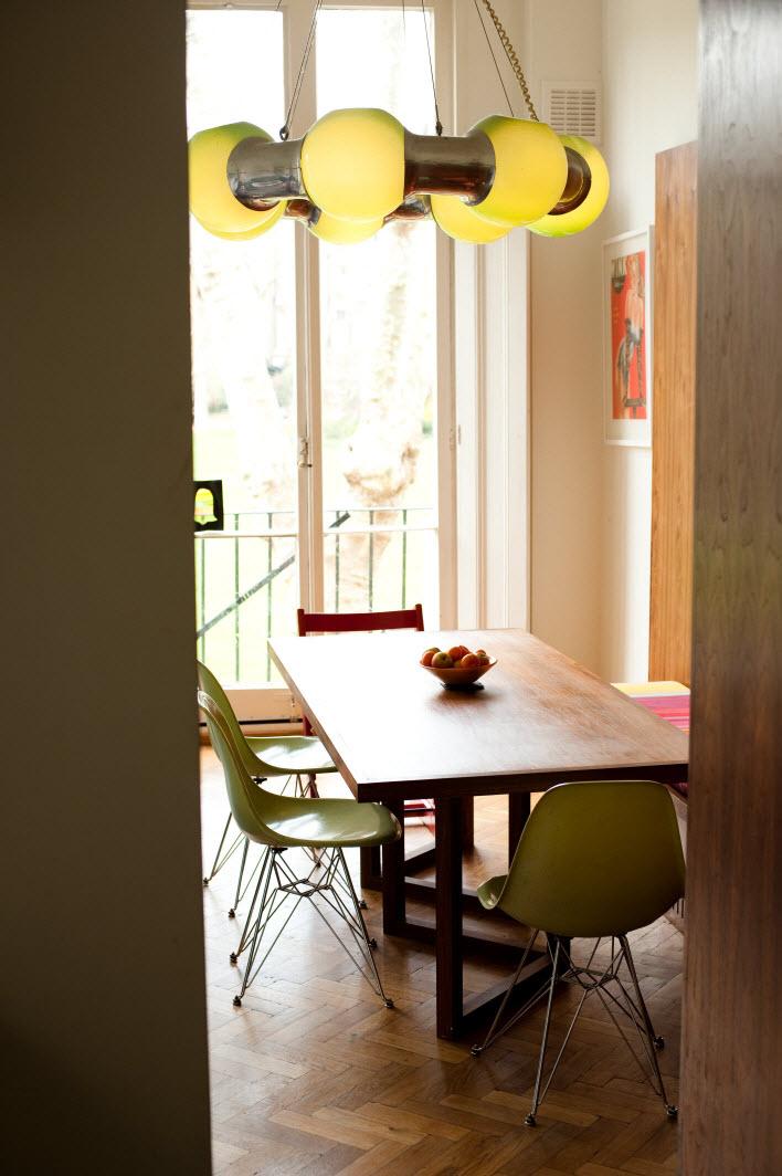 混搭装修餐厅个性灯欣赏