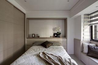 宜家裸色系卧室效果图欣赏