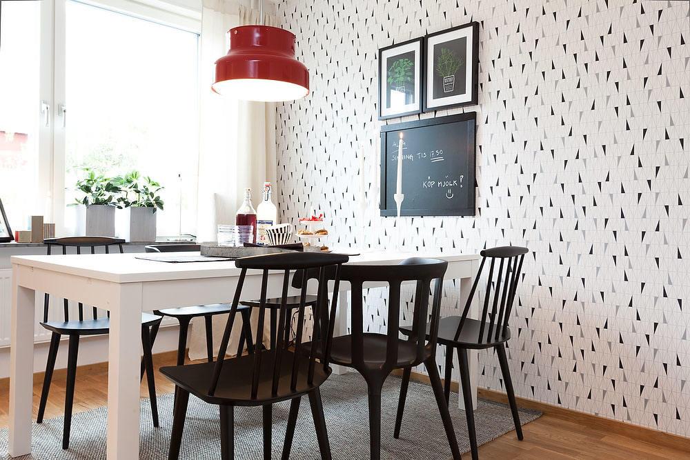 时尚现代餐厅相片墙设计