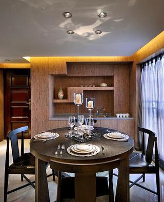 摩登时尚现代餐厅设计装潢效果图