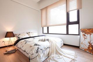 时尚现代日式卧室拉帘效果图