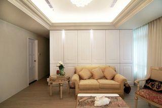简约现代客厅沙发背景墙设计