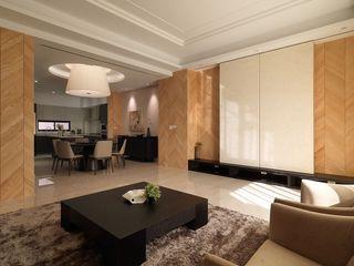 舒适现代简约风 三室两厅设计