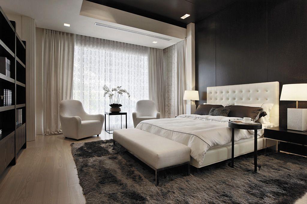 摩登简美式卧室装饰大全