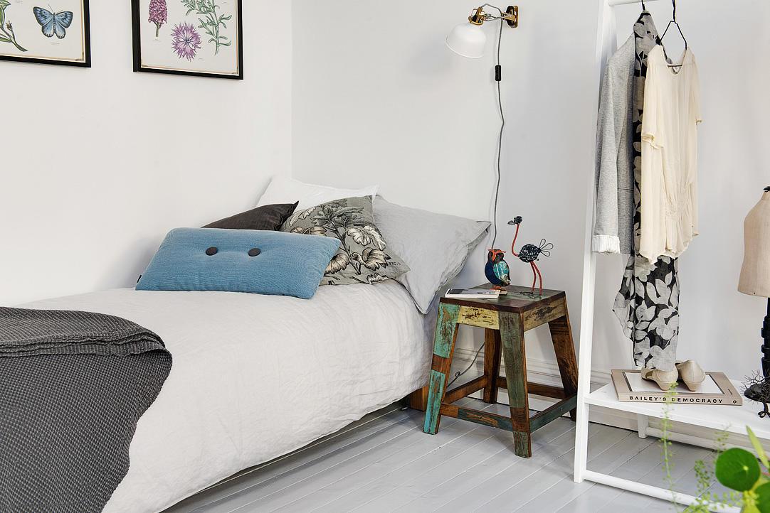 复古北欧风格 小卧室装饰设计