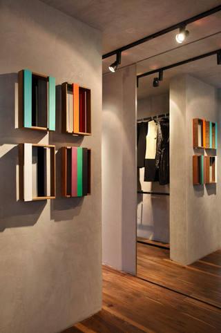 时尚工业风过道背景墙装饰