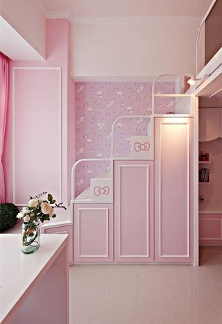 唯美设计粉色室内楼梯效果图案例