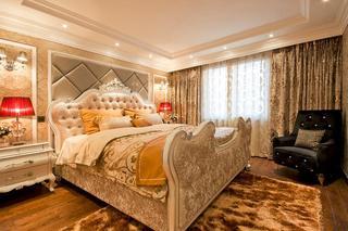 华丽欧式新古典卧室效果图