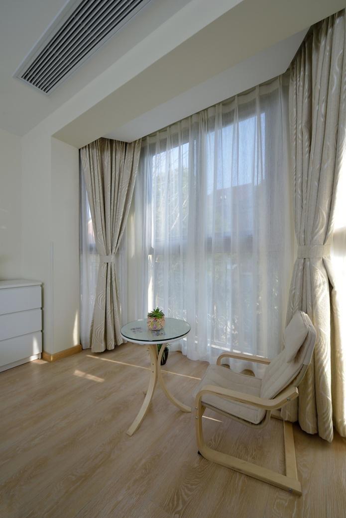 简约宜家风 休闲区窗帘设计