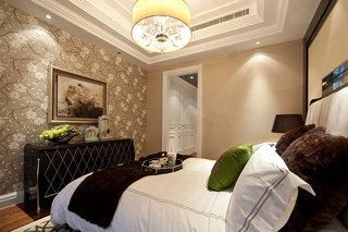 新古典风格卧室背景墙设计