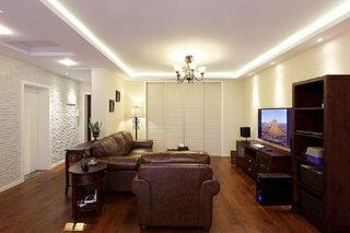 休闲简美式客厅装饰大全