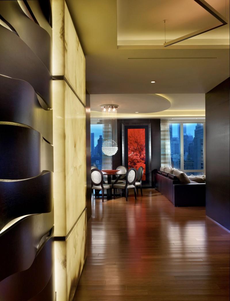 时尚现代家居实木地板装饰