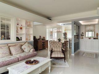 清新复古韩式田园风格 二居装潢设计